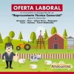 Andeanvet: Se encuentra en la Búsqueda de un Representante Técnico Comercial