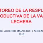 Videoconferencia: Monitoreo de la Respuesta Productiva, Importancia de la Nutrición de la Vaca Lechera