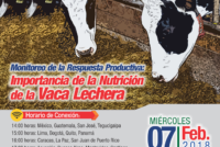 EN VIVO: Monitoreo de la Respuesta Productiva, Importancia de la Nutrición de la Vaca Lechera