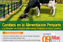 EN VIVO: Cambios en la Alimentación Periparto y su Relación con Procesos Inflamatorios Postparto en Vacas