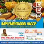 Curso On Line: Implementador HACCP para Industrias Agroalimentarias