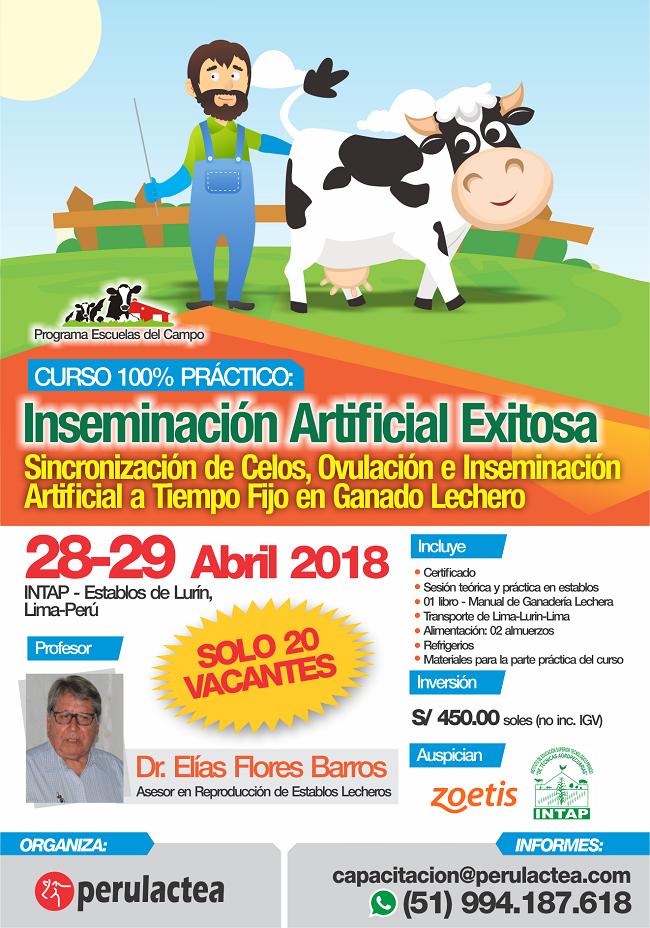 Curso 100% Práctico: Inseminación Artificial Exitosa – Perulactea