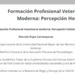Formación Profesional Veterinaria Moderna: Percepción Holística