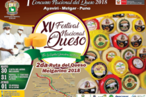 """I Concurso Nacional del Queso – """"XV Festival Nacional del Queso en la Capital Ganadera del Perú – y II Ruta del Queso Melgarino 2018"""" 🗓"""