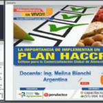 Videoconferencia: La Importancia de Implementar un Plan HACCP