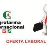 Oportunidad de Empleo: Representante Comercial Fármacos Veterinarios ZONA SUR