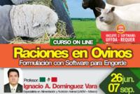 Curso On Line: Raciones en Ovinos – Formulación con Software para Engorde