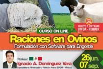 Curso On Line: Raciones en Ovinos – Formulación con Software para Engorde 🗓