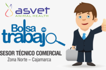 Laboratorio Asvet: Solicita un Asesor Técnico Comercial para Cajamarca