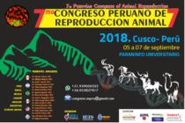 7mo Congreso Peruano de Reproducción Animal Cusco – Perú 2018