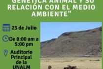 Simposio Internacional: Ganadería Altoandina, Genética Animal y su Relación con el Medio Ambiente – Ingreso Libre 🗓 🗺