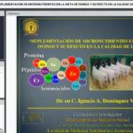 Videoconferencia: Suplementación de Micronutrientes en la Dieta de Ovinos y su Efecto en la Calidad de Carne