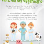 La Familia Invetsa les Desea un Feliz día del Medico Veterinario