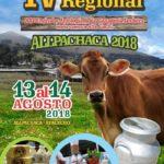 ALLPACHACA 2018: IV Feria Regional y el  XXI Festival y Antología de la Ganadería Lechera en la Cuenca Cachi Alta
