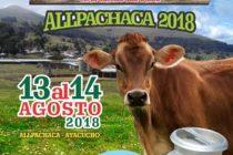 ALLPACHACA 2018: IV Feria Regional y el  XXI Festival y Antología de la Ganadería Lechera en la Cuenca Cachi Alta 🗓 🗺