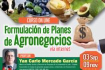 Curso On Line: Formulación de Planes de Agronegocios 2018 🗓