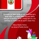 INVETSA les Desea Felices Fiestas Patrias