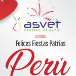 ¡Felices Fiestas Patrias! Les Desea Asvet
