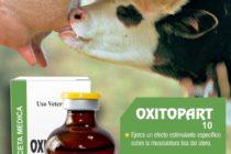 Asvet Presenta  Oxitopart 10  Nueva Solución Inyectable