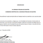 COMUNICADO: VII Jornada Peruana de Buiatría