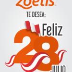Zoetis Les Desea ¡Felices Fiestas Patrias!