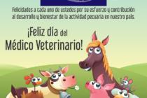 Laboratorio Victoria les Desea un Feliz Día  del Médico Veterinario