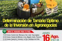 EN VIVO: Determinación del Tamaño Óptimo de la Inversión en Agronegocios 🗓