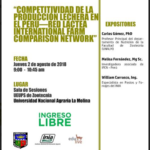 Simposio: Competitividad de la Producción Lechera en el Perú - Red Lactea International Farm Comparison Network