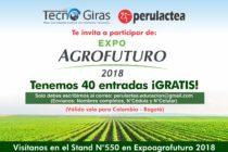 Entradas GRATIS  para EXPOAGROFUTURO 2018 en Colombia