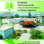 Congreso Internacional de Innovación Educativas en Temas Agrarios
