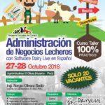 Curso Taller 100% Práctico: Administración del Negocio Lechero con Software Dairy Live en Español