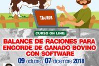 Curso On Line: Balance de Raciones con Software para Engorde de Ganado Bovino