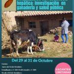 """Curso - Taller Internacional """"Actualización en Fasciolosis hepática: Investigación en ganadería y salud pública"""""""