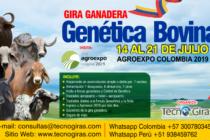 Gira Ganadera: Genética Bovina – Colombia 2019 🗓