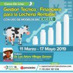 Curso On Line: Gestión Técnico Financiera para la Lechería Rentable con uso de Modelos en Excel