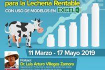 Curso On Line: Gestión Técnico Financiera para la Lechería Rentable con uso de Modelos en Excel 🗓