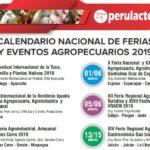 Calendario Nacional de Ferias y Eventos Agropecuarios en el Perú para el 2019