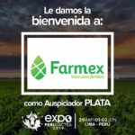EXPOPERULACTEA 2019 da la Bienvenida a: Farmex como Auspiciador Plata