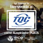 EXPOPERULACTEA 2019 da la Bienvenida a: TQC como Auspiciador Plata