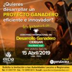 Congreso CIDEGAN Promoverá Desarrollo De Proyectos Ganaderos Innovadores