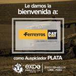 EXPOPERULACTEA 2019 da la Bienvenida a: Ferreyros como Auspiciador Plata