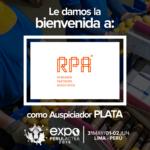 EXPOPERULACTEA 2019 da la Bienvenida a: Reactivos para Análisis, (RPA) como Auspiciador Plata