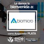 EXPOPERULACTEA 2019 da la Bienvenida a: Biomicro Diagnostics como Auspiciador Plata