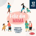 Laboratorios Biomont les Desea Feliz Día de Las Madres