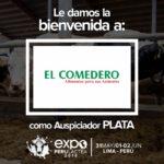 EXPOPERULACTEA 2019 da la Bienvenida a: El Comedero como Auspiciador Plata