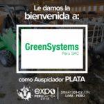 Expoperulactea 2019 da la Bienvenida a: GreenSystems Perú como Auspiciador Plata
