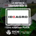 EXPOPERULACTEA 2019 da la Bienvenida a: Ideagro como Auspiciador Plata