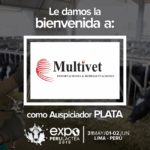 EXPOPERULACTEA 2019 da la Bienvenida a: Multivet como Auspiciador Plata