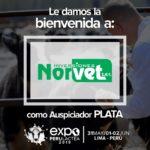 EXPOPERULACTEA 2019 da la Bienvenida a: Inversiones Norvet como Auspiciador Plata