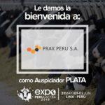 EXPOPERULACTEA 2019 da la Bienvenida a: Prax Perú como Auspiciador Plata